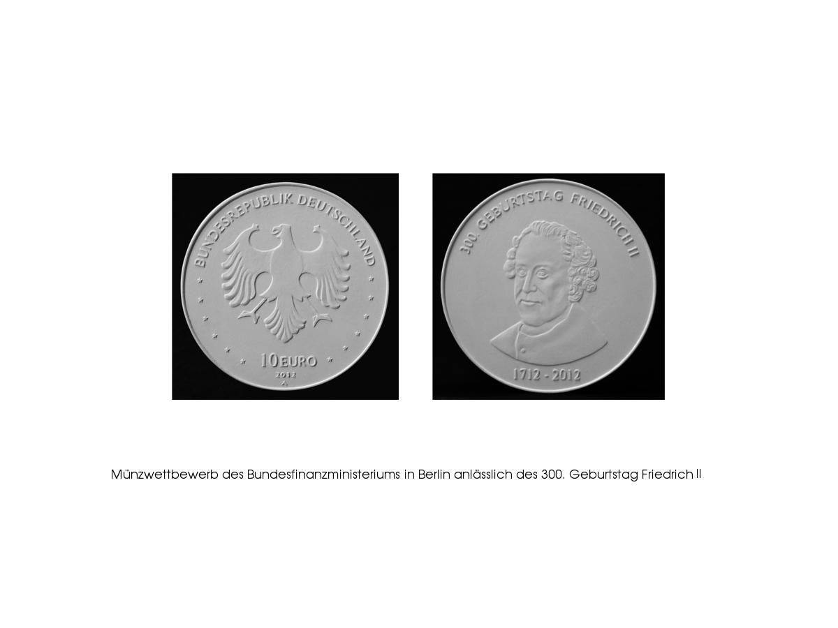 440 Gedenkmedaille Friedrich II